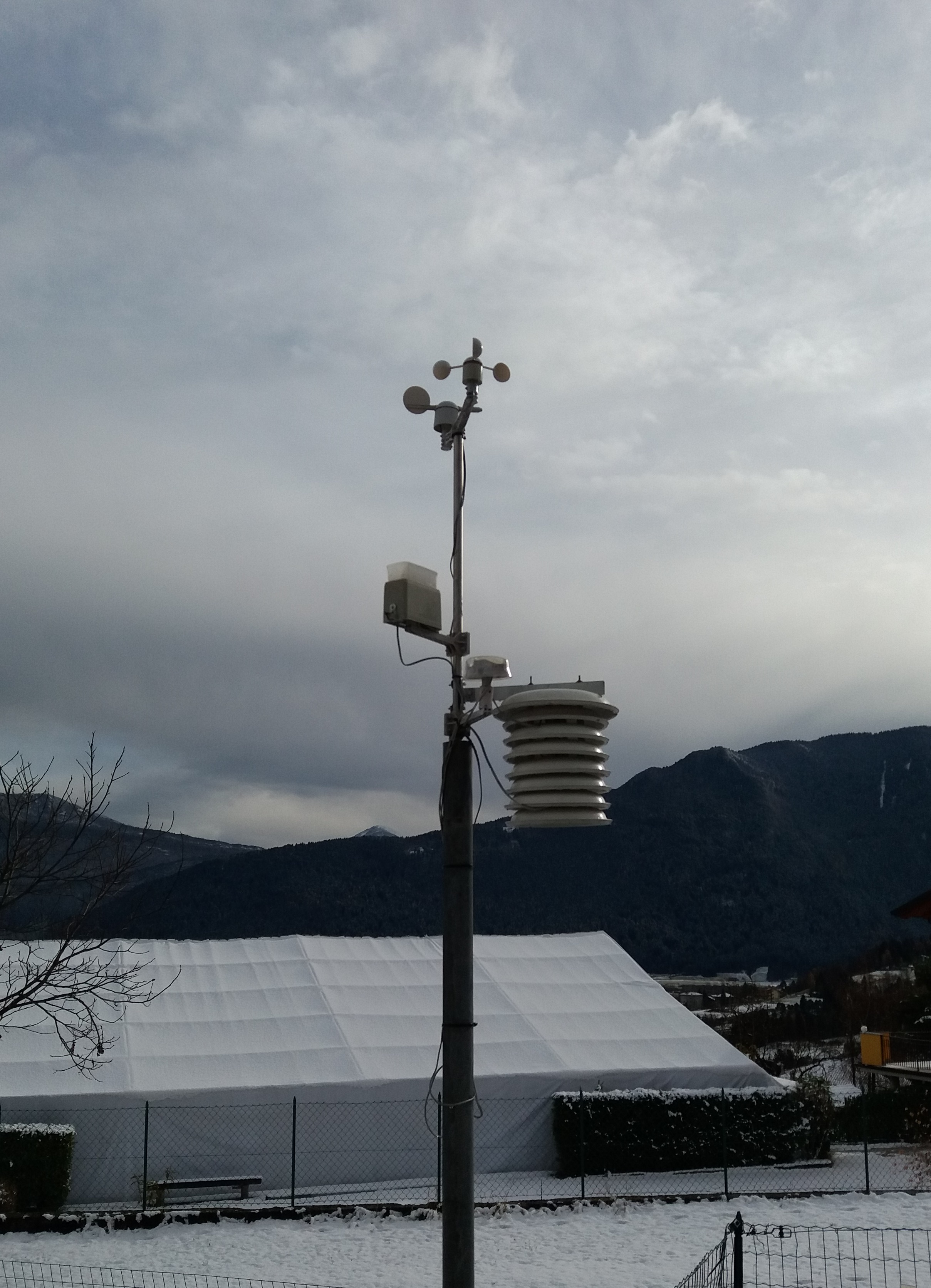 Stazione meteorologica di Balbido - PCE FWS 20